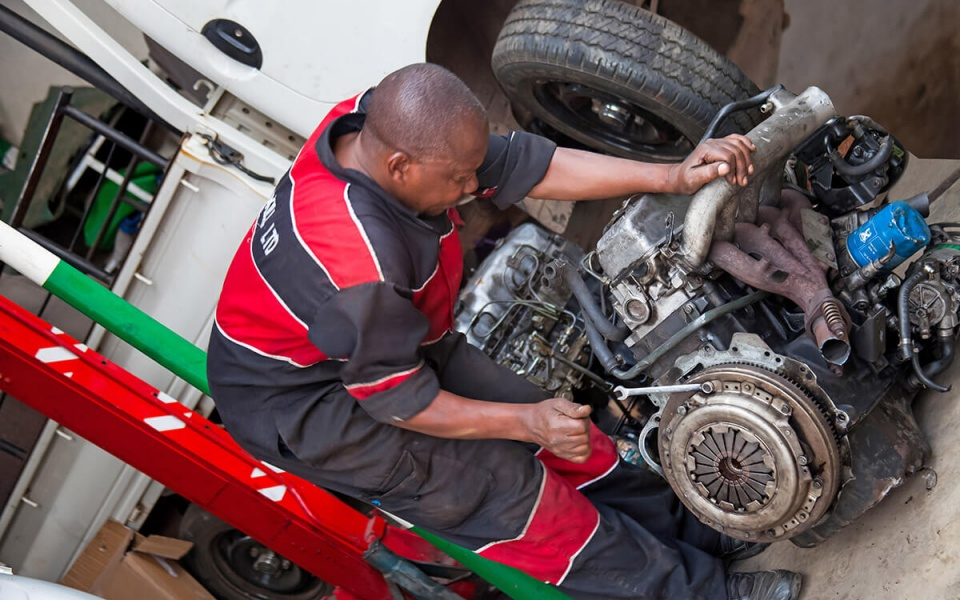 Mechanical Services - engine replacement